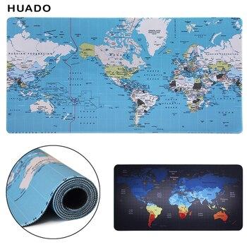 Коврик для игровой мыши xl 900x400/1000x500 мм карта мира большой коврик для мыши геймер Коврик для клавиатуры игровые аксессуары