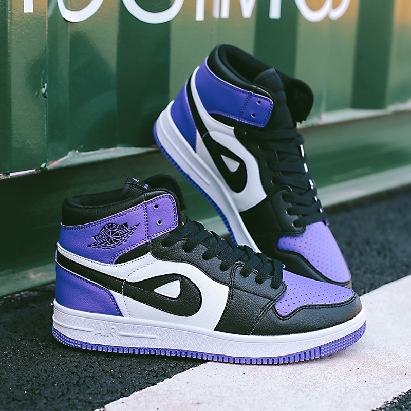 new york a499e edaee US $24.68  New Big Size 11 high top yellow sneakers nice air force 1 green  blue white black grey unisex off white jordan basketball shoes-in ...