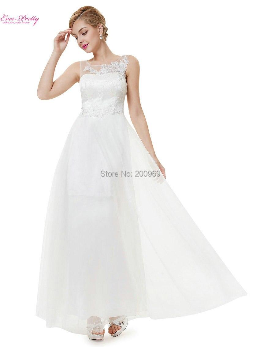 Ausverkauf] Lange Einfache Brautkleider HE08447 Immer Hübsche Frauen ...