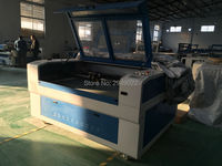 co2 double head laser cutting machine/engraving machine for wedding invitation cards and greeting cards