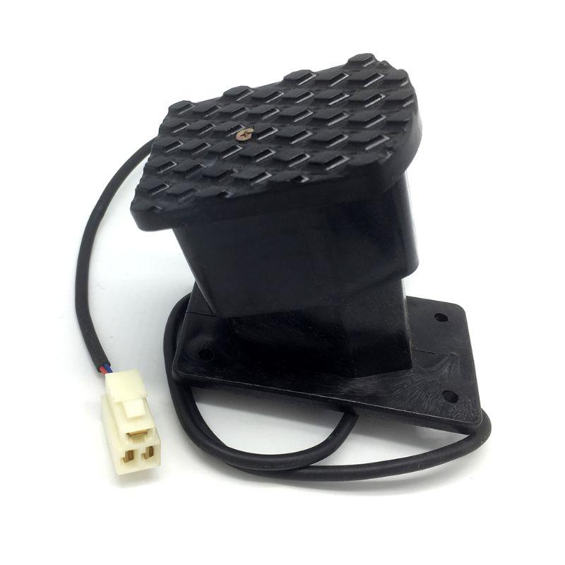 1 Stück Schwarz Kunststoff Atv Gaspedal Accelerator Gas Geschwindigkeit Control Pedal Fit Für Elektrische Fahrrad Roller M77 Ohne RüCkgabe
