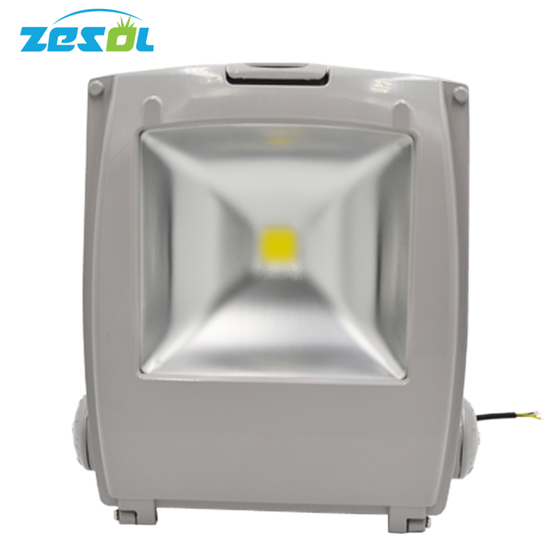 ZESOL outdoor lighting 100W LED Flood light infrared Reflector lights  focos 220v exterior  ip65 aluminum garden  iluminacion refletor led sensor light flood projecteur focos led 220v exterior outdoor lighting reflector 50w pir motion outdoor spotlight