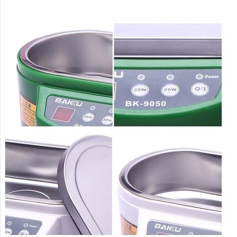 BK-9050 Smart Mini Ultrasonic Cleaner Bath For Cleaning Jewelry Glasses Circuit Board Dental Razor ultrasonic washing machine Karachi