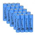 Wholesale5pcs * TrustFire 20 STÜCKE AAA 10440 600 mAh 3,7 V Lithium ionen akku Blau