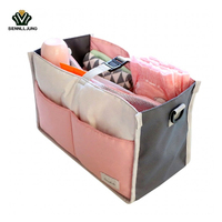 New Baby Stroller Organizer Cooler And Thermal Bags For Mum Hanging Carriage Pram Buggy Cart Bottle
