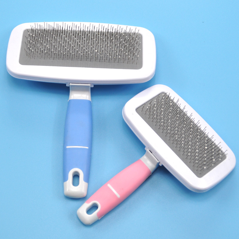 Pet Dog Hair Removal Combs Cats Fur Cleaning Original Brush Grooming Large Size Combs Tool Candy Color Non-slip Pets Product s