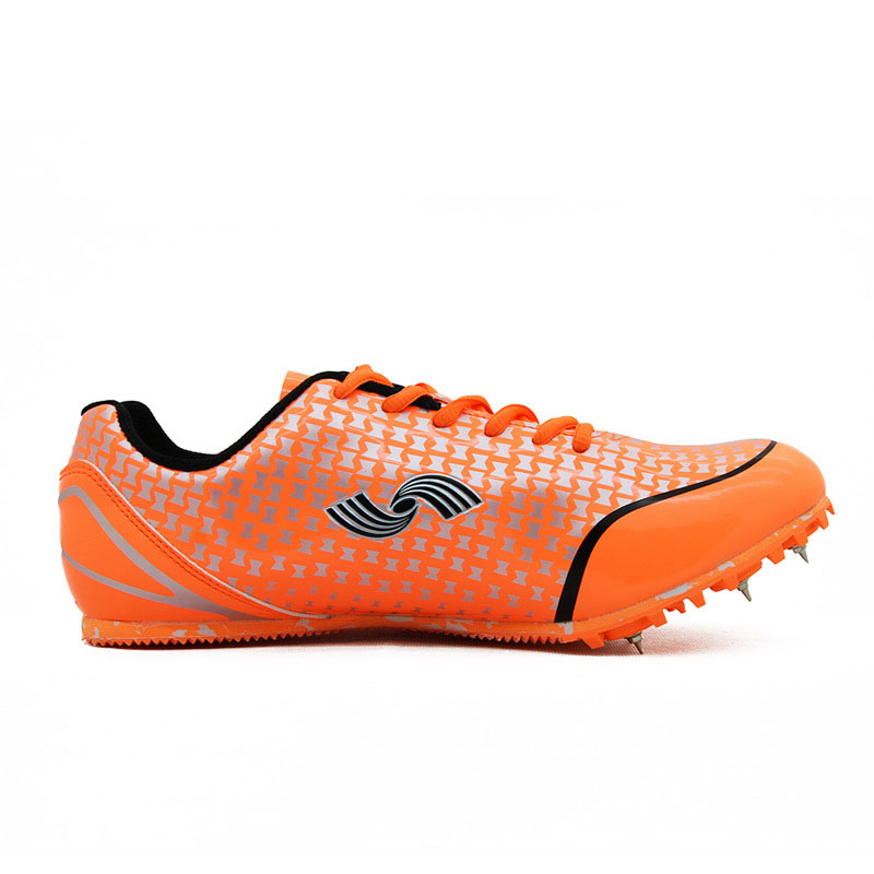 Long Race Sprint Outdoo Breathable Spikes Løpesko Kvinner Trenere Sport Track Field Sneakers Athletic Shoes # 52511