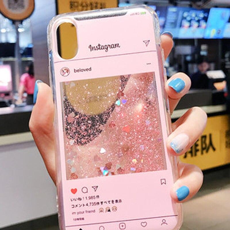 Liquid Case Voor Huawei Honor 5A 6A 7 s 7A 7C 6X7X8 9 10 Lite V8 v9 Spelen 8 7C Pro V10 7i Cartoon Instagram Soft Silicone Cover
