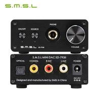 SMSL SD 793II Headphone Amplifier PCM1793 DIR9001 DAC Digital Audio Decoder
