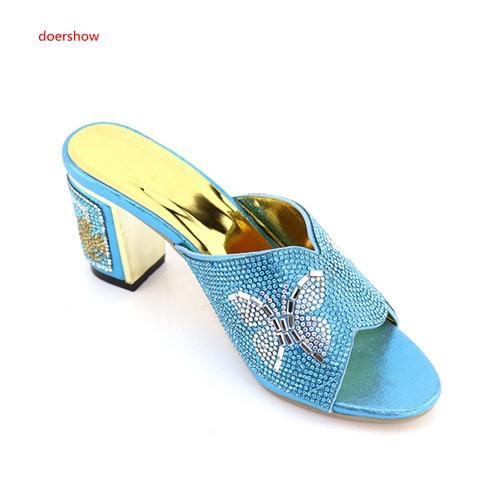 Chaussures Sku1 26 De Parti Italien Sandales Dernières Décoré Doershow Strass Pompes Nigérien Avec Design Mariage Femmes 6ZqXxwnpT