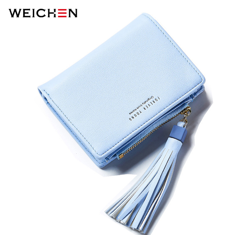 2017 New Woman's Tassel Day Clutch Wallet Brand Designer Coin Bag Card Holder Short Small Wallets Purse For Women Female Lady korean style famous brand designer women short wallet faux suede leather coin bag card holder lady day clutches purses&wallets