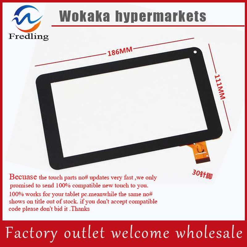 New 7 Digma iDjD7 Tablet Capacitive touch screen panel LCD Digitizer Glass Sensor replacement Free Shipping 7 for dexp ursus s170 tablet touch screen digitizer glass sensor panel replacement free shipping black w