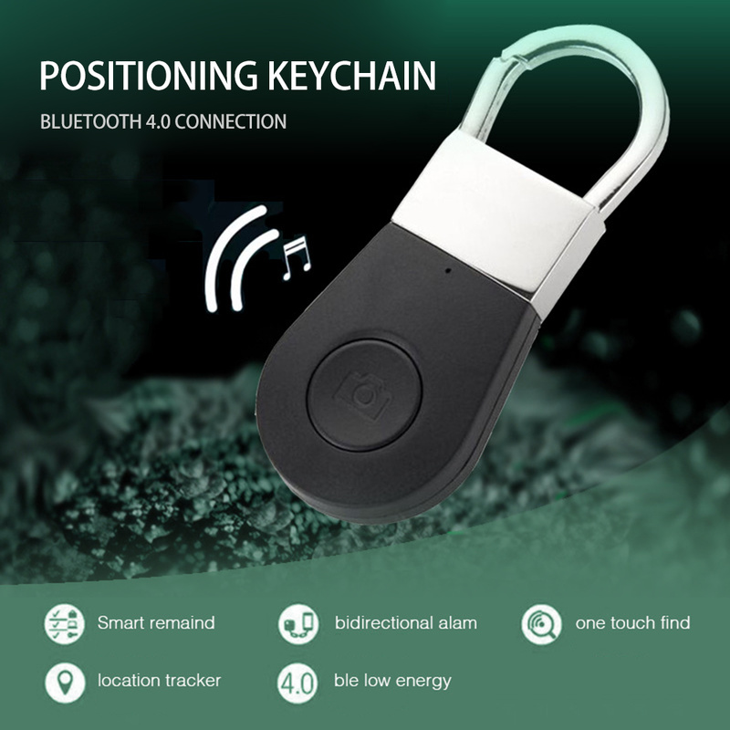 Multifunction Smart Wireless Bluetooth Keychain Alarm Tracer Camera Button GPS Anti Lost For Kids Pet Dog Cat Child Wallet