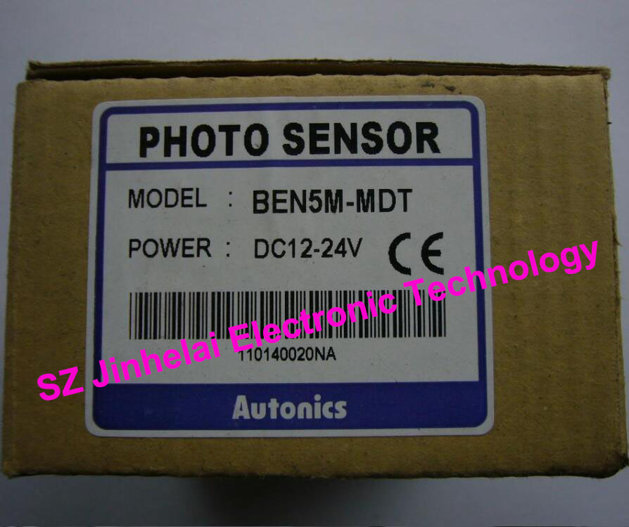 New and original BEN5M-MDT AUTONICS PHOTO SENSOR 12-24VDC ps50 30dp ps50 30dn new and original autonics proximity sensor 12 24vdc