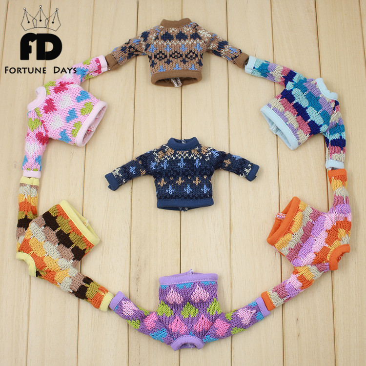 Free shipping colorful sweater suitable joint Doll JerryB Azone S цена и фото