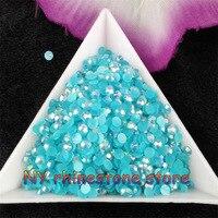 Free Shipping 10000pcs Dark Acid Magic Color AB Jelly 3mm Resin Rhinestones Nail Art Mobile Phone