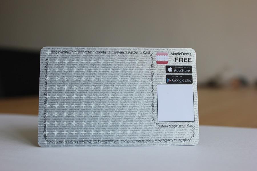 Benutzerdefinierte Metallic Funkelnden Silber Karten
