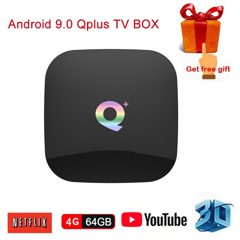 IPTV Q Plus H6 Smart 6K HD TV Box Android 9.0 4GB RAM 64GB ROM Quad Core USB 3.0 2.4GHz Wifi Media Player Qplus Set Top BoxIPTV Q Plus H6 Smart 6K HD TV Box Android 9.0 4GB RAM 64GB ROM Quad Core USB 3.0 2.4GHz Wifi Media Player Qplus Set Top Box