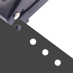 Image 4 - 1 szt. 6 otworów dziurkacz standardowy dziurkacz materiały biurowe wiążące szkolne materiały papiernicze sprzęt biurowy wiążące dobre narzędzie
