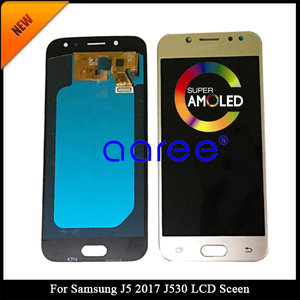 Image 2 - Tested AMOLED For Samsung J5 Pro 2017 J530 LCD Display For Samsung J5 2017 J530 LCD Screen Touch Digitizer Assembly + Adhesive