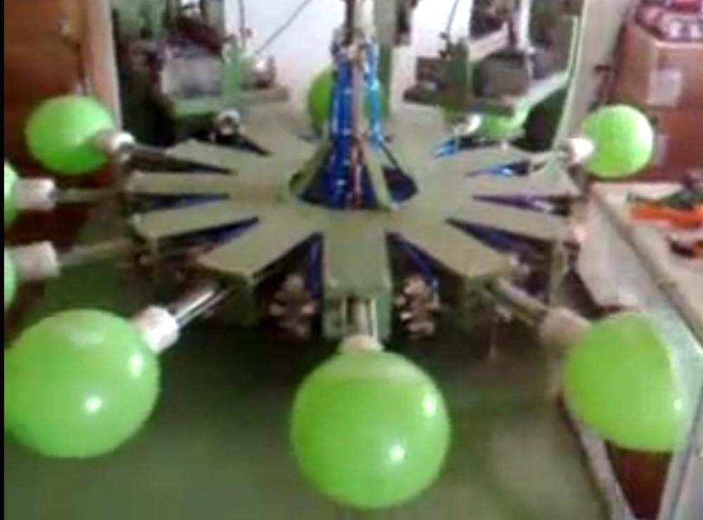 3 color balloon printing machine 3