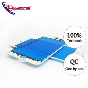 Touch-Panel-Replacement Glass-Lens Frame Outer-Screen iPhone Front Repair-Parts for 7