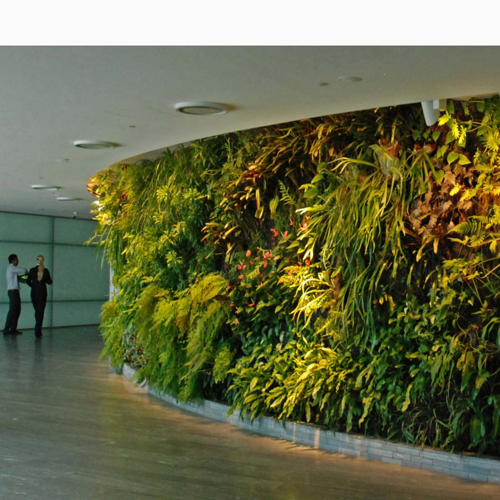 High end luxurious decoration Artificial plants interior ... on Wall Sconces For Greenery Decoration id=17593