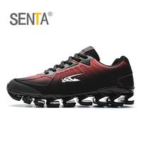 SENTA New Blade Running Shoes Man Korean Cool Spring Shoes Non Slip Light Shock Absorber Breathable