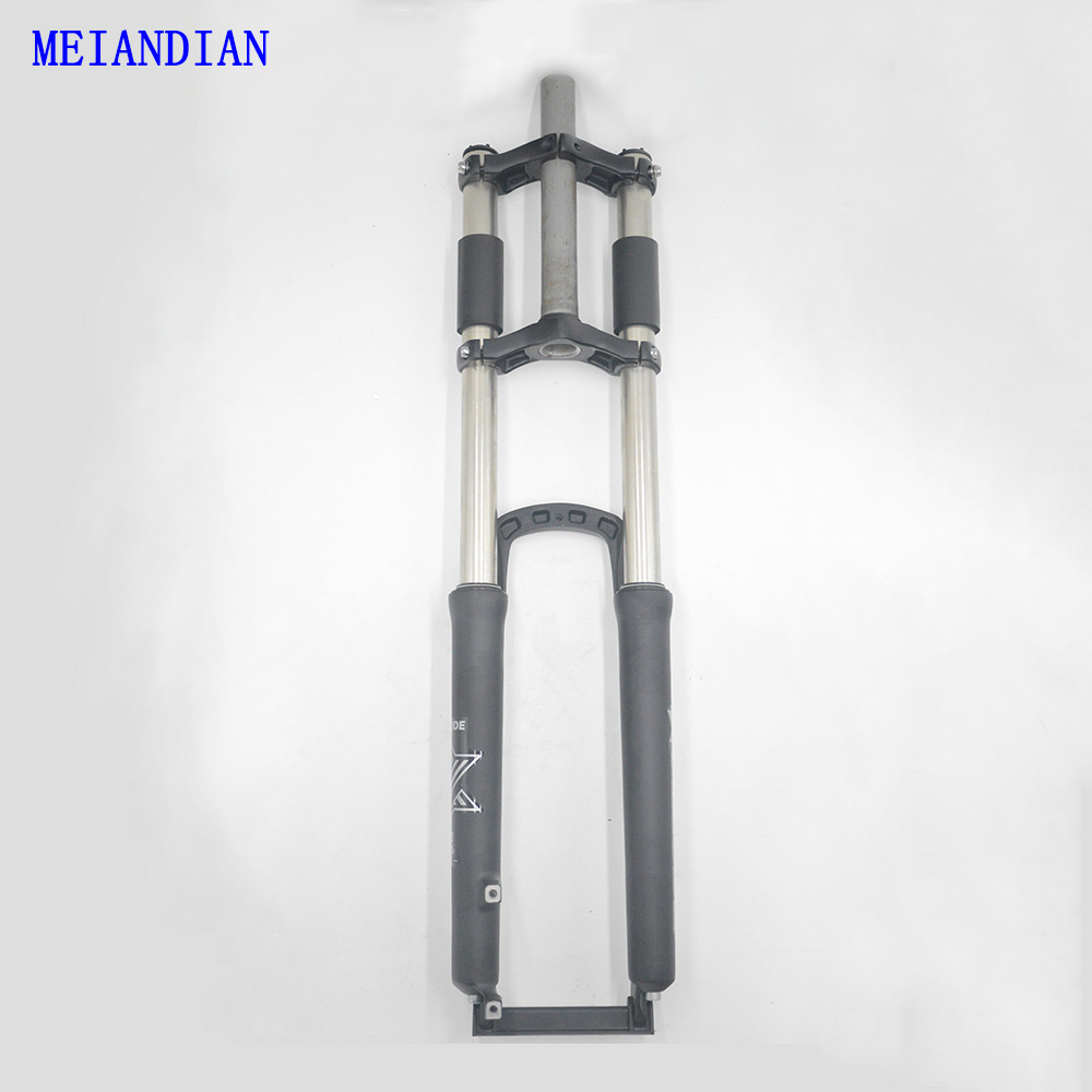 DH Downhill Bike Stroke Suspension Fork Disc Brake Aluminum Alloy 26/27.5 inch Down Hill Suspension Bicycle Fork