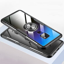 Magnetic Phone Case For Huawei P20 P30 Mate 9 10 20 Pro Lite For Honor Play 7X 8X Max 10 Lite P Smart Tempered Glass Cover Cases цены