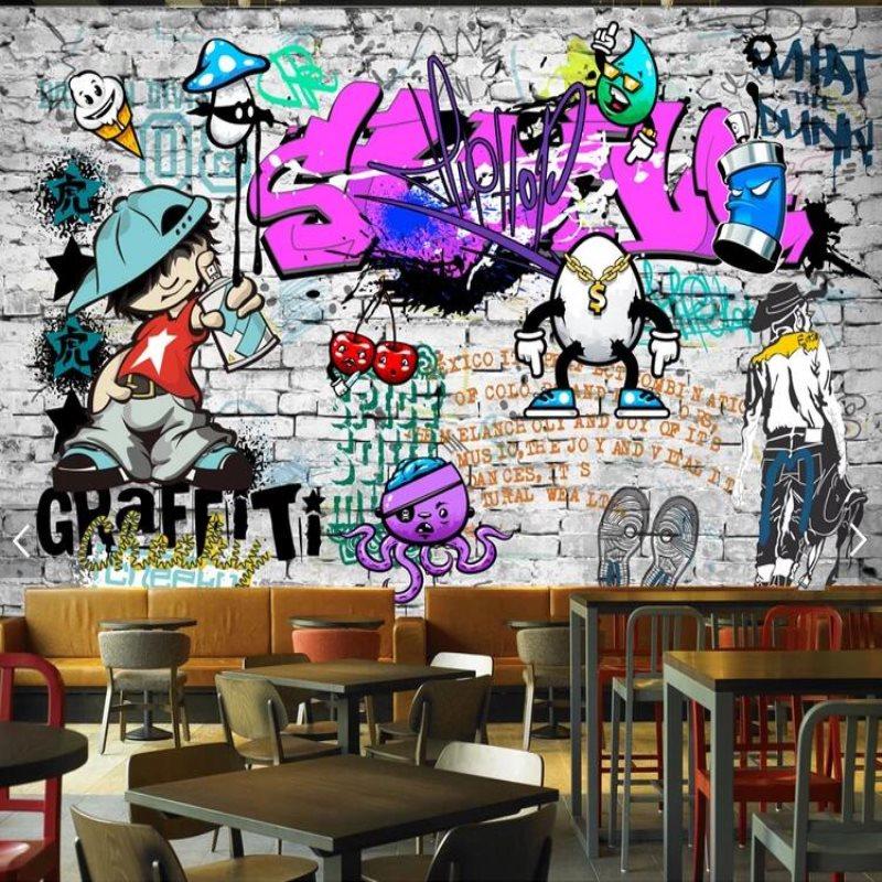 Graffiti Art Wallpapers Group 71: Large Custom Fashion Mural Trend Street Art Graffiti