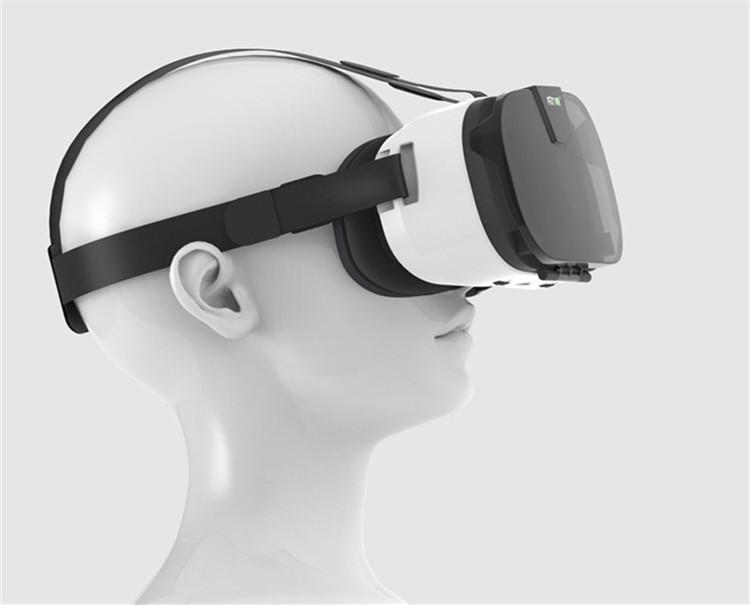 FIIT VR 3D Virtual Reality Video Helmet Cardboard 2.0 VR Glasses Box for 4.0-6.5 inch Smartphone Lightweight Ergonomic Design (22)