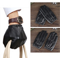 Sheep Skin Men Gloves Classic Genuine Leather men's driving Gloves Men's handschoenen Smart Phone Gloves Black M/L