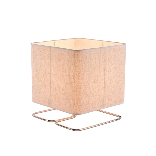 Cube Shaped Table Lamp