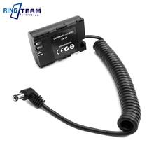 купить DC 7.2V 5.5x2.1mm LP-E6 Dummy Battery DRE6 DR-E6 DC Coupler for Canon EOS 5D2 5D3 5D4 6D 6D2 7D 7D2 70D 80D 60D 60Da Cameras онлайн