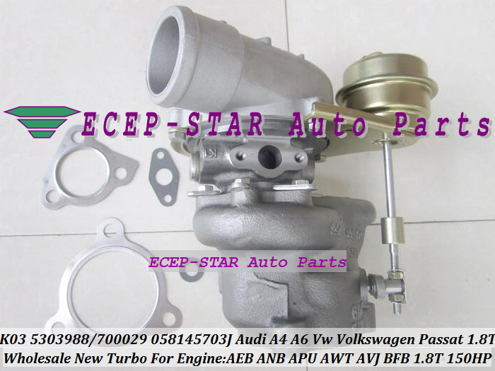K03 29 53039880029 058145703JX 058145703JV 058145703N Turbo For AUDI A4 A6 C5 B6 VW Passat B5 1.8T AEB ANB APU AWT AVJ BFB 1.8L