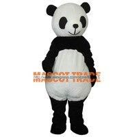 Маскарадные костюмы Дешевые Новые Свадебные панда Маскоты костюм нарядное платье для взрослых Размеры