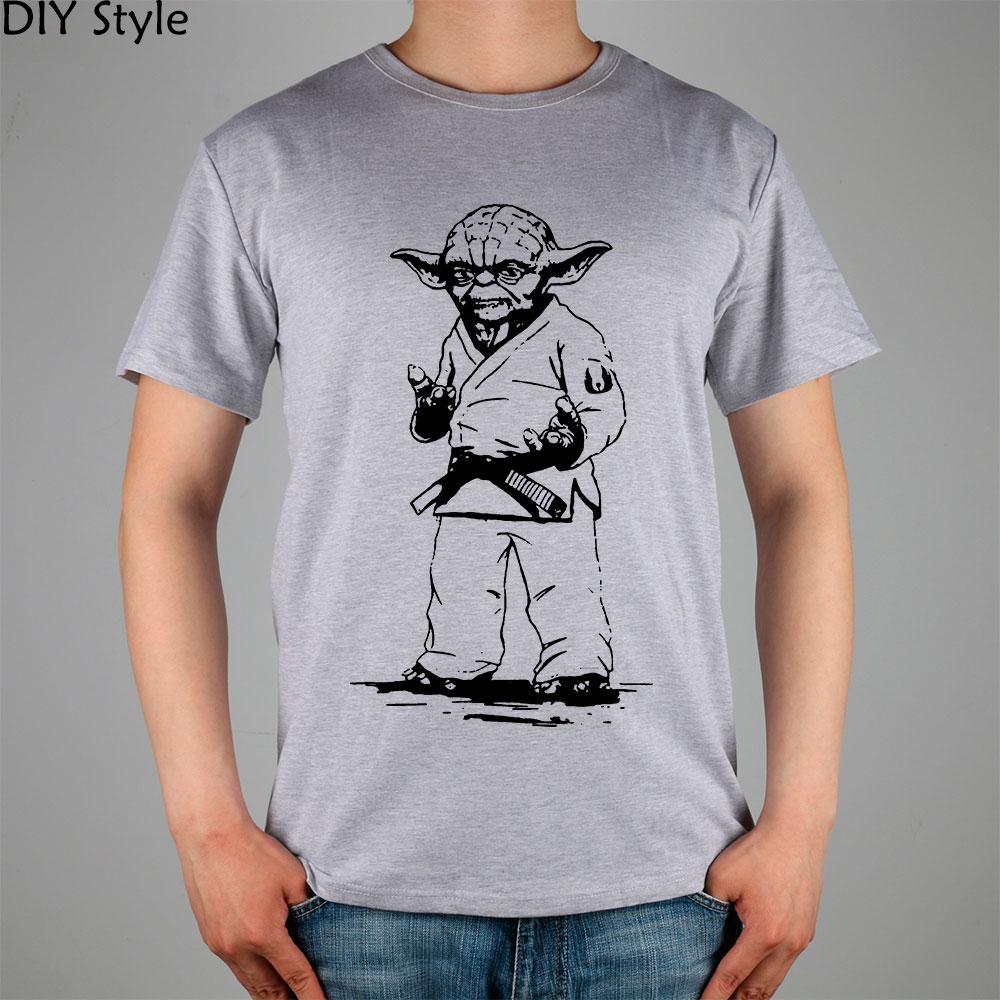 STAR WARS yoda JUDO JIU JITSU T-shirt Κορυφαία λουράκι - Ανδρικός ρουχισμός - Φωτογραφία 4