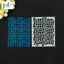 Julyarts Metal Cutting Dies Rectangle Stencils For DIY Scrapbooking Embossing Paper Card Crafts Gift Making Stamps And