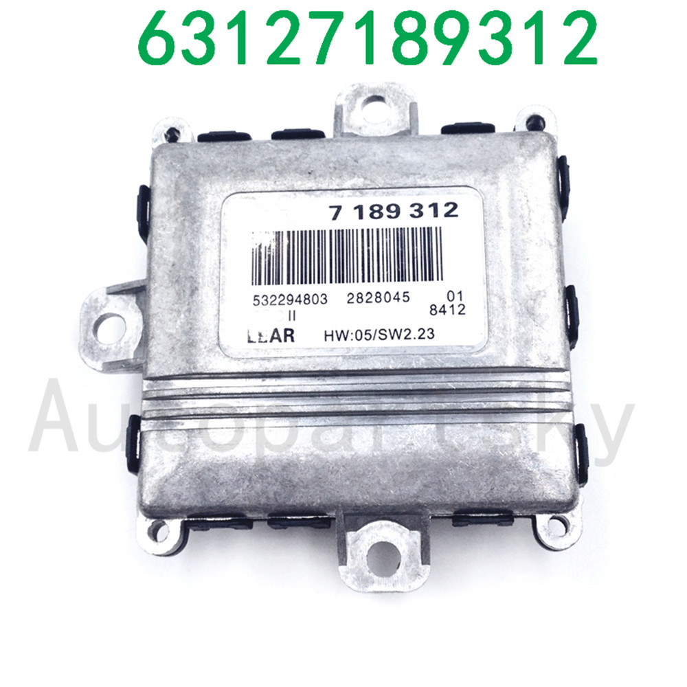 ALC Adaptive Headlight Drive Light Control Unit 7189312 Xenon Ballast Model for E46 E90 E60 E61