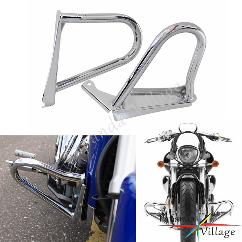 Chrome Motorcycle Highway Engine Guard Protection Crash Bar for Suzuki Boulevard M109R 2006-2011