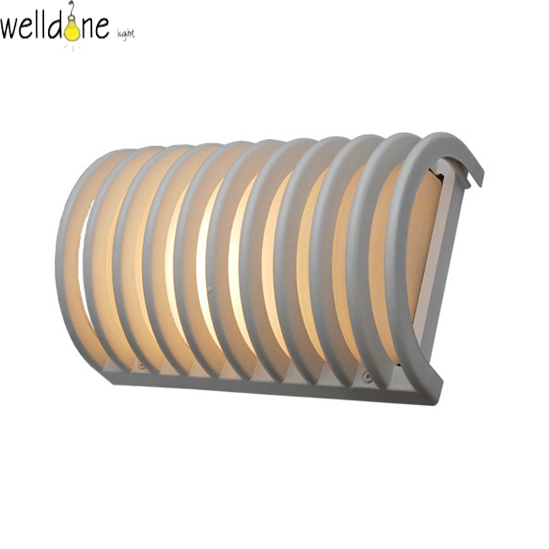 LED water proof alluminum white color wall lamp for garden europea style good quality froe shinppingLED water proof alluminum white color wall lamp for garden europea style good quality froe shinpping