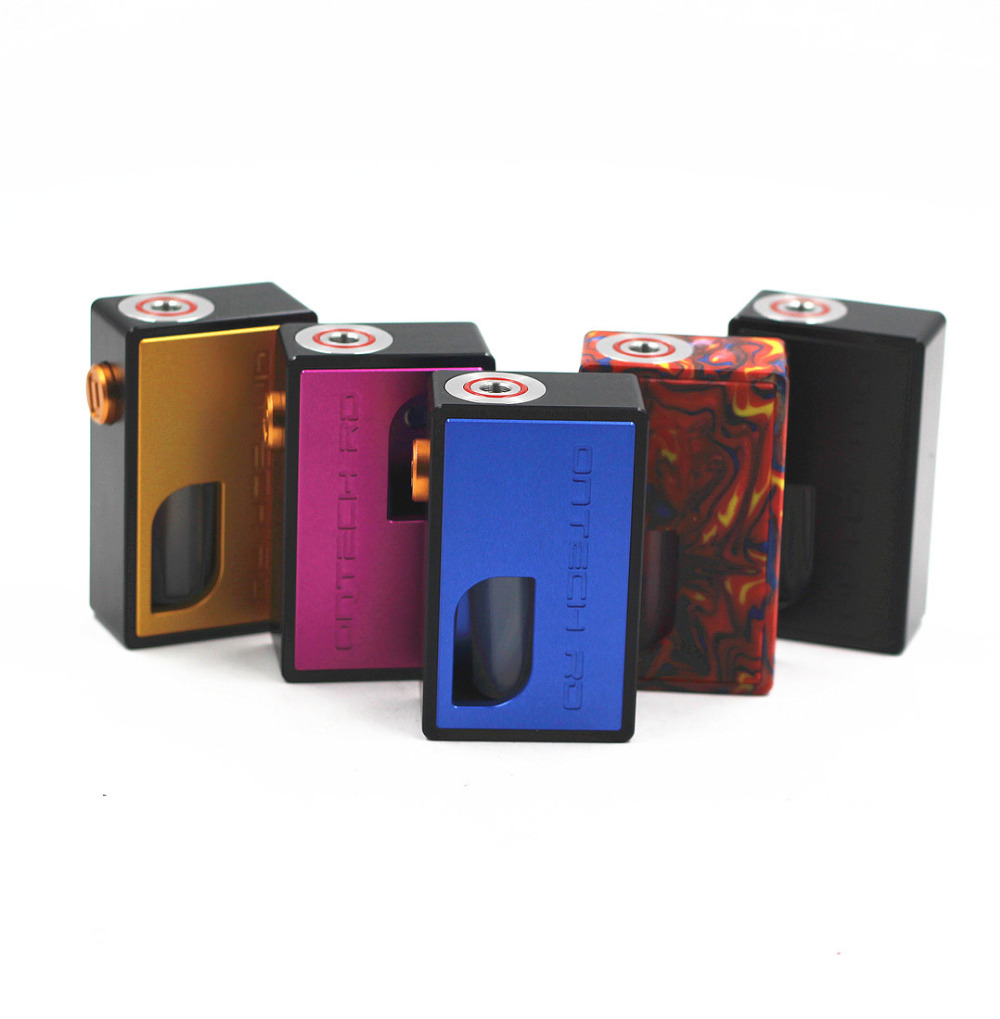 Ontech RD Mechanical Mech Mod BF Box Mod Bottom Feeder Battery Mod Aluminum Resin Material Top Quality Vape Pen