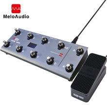 Midi commander controle de pé com 10 interruptores de pé, controlador portátil usb midi de pedal de expressão jaquetas 8, presets de host para guitarra ao vivo