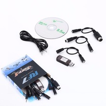 Newest 20 in 1 USB RC Flight Simulator Cable For Realflight G6.5 G5 G4 Phoenix For RC Helicopter Car Boat