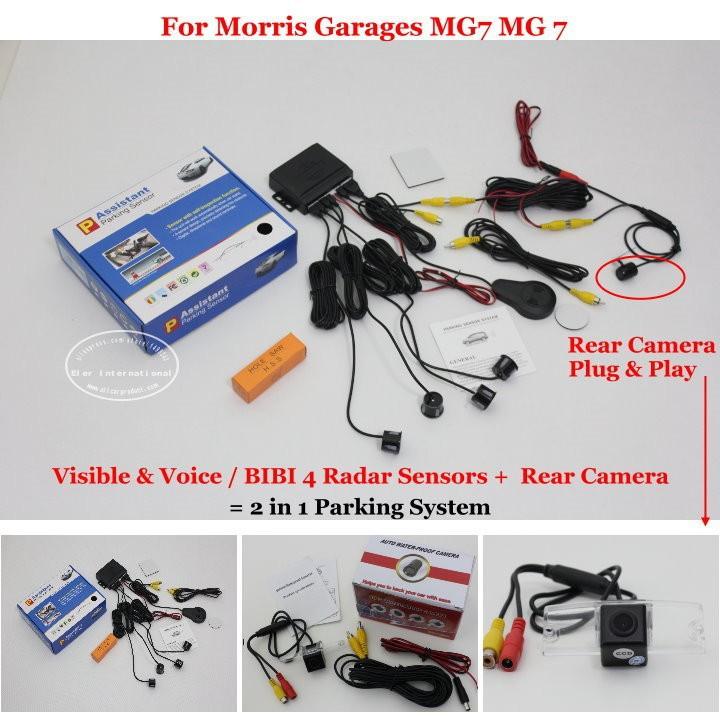 Morris Garages MG7 MG 7 parking system
