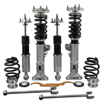 coilover kit for bmw 3 series e36 m3 base convertible 2 door struts shocks 91 98 absorbers front rear dampering springs strut Coilover Suspensions For BMW 3 Series E36 Sedan Coupe Absorbers Shocks Strut for 318 323 325 328 325is/325ic/328i/328is/328ic/M3