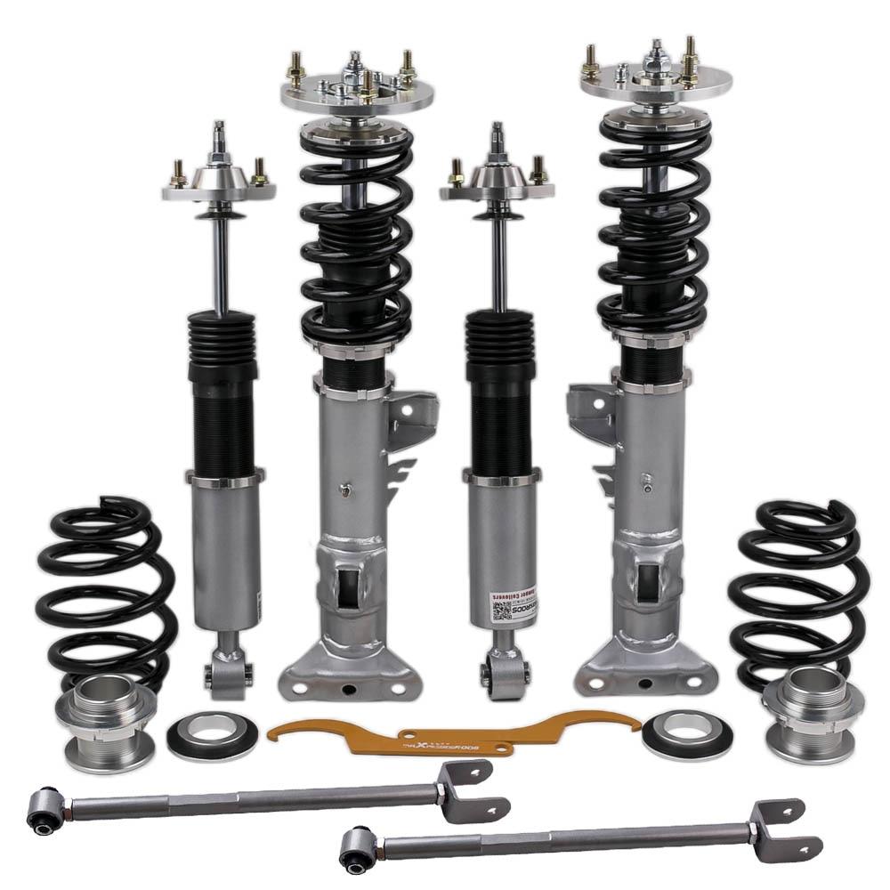 Coilover süspansiyon BMW 3 serisi için E36 Sedan Coupe amortisörler şoklar dikme 318 323 325 328 için 325is/325ic /328i/328is/328ic/M3