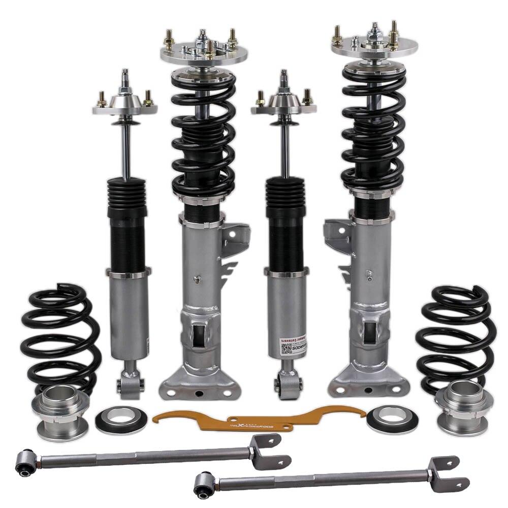 Coilover suspensões para bmw série 3 e36 sedan coupe amortecedores strut para 318 323 325 328 325is/325ic/328i/328is/328ic/m3