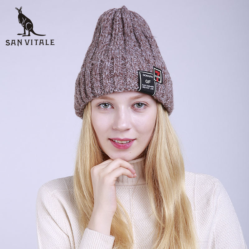 Skullies     Beanies   Hats Women Hats Winter Warm Cashmere Face Mask Palestine Slouchy Pom Pom Rhinestone Helisopus Rick And Morty